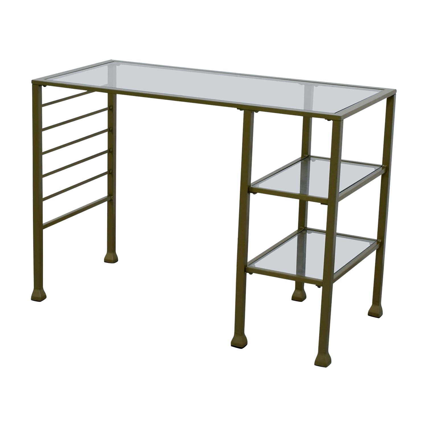Off wayfair gold matte writing desk tables
