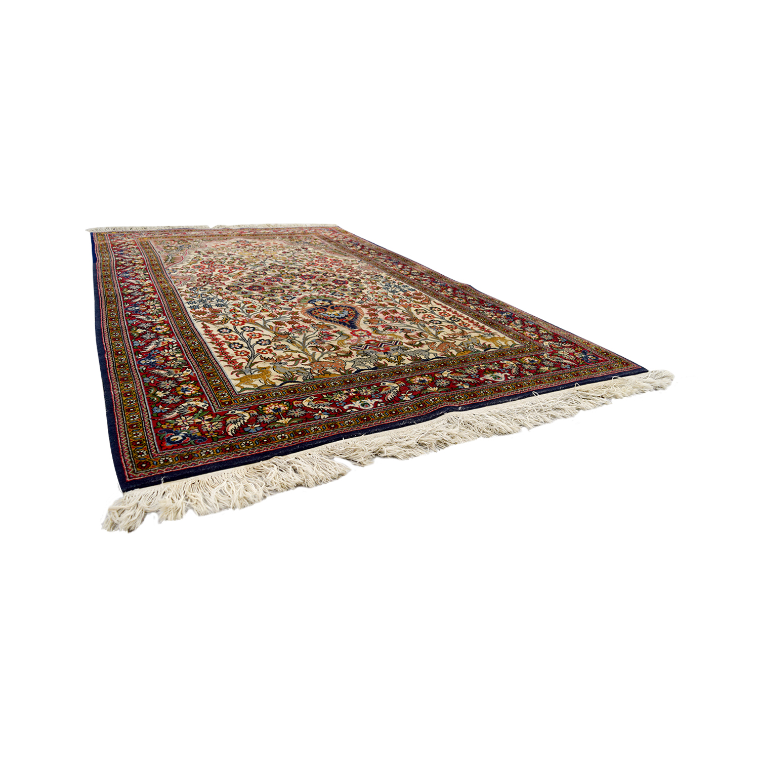 ABC Carpet and Home ABC Carpet & Home Persian Red Rug discount