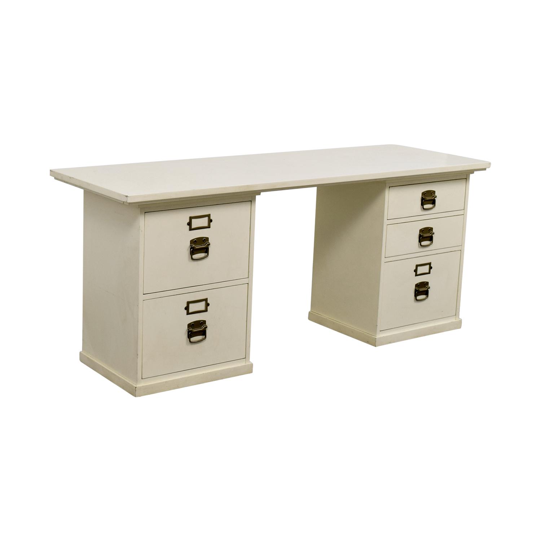Pottery Barn Pottery Barn Bedford White Desk