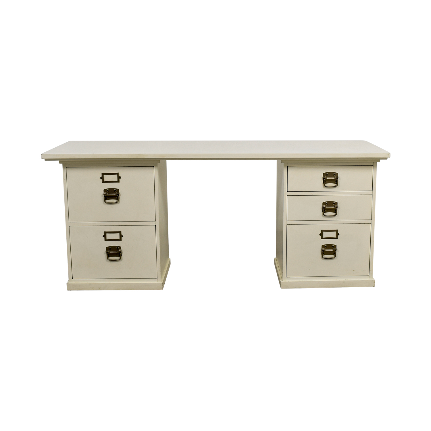 Pottery Barn Bedford White Desk