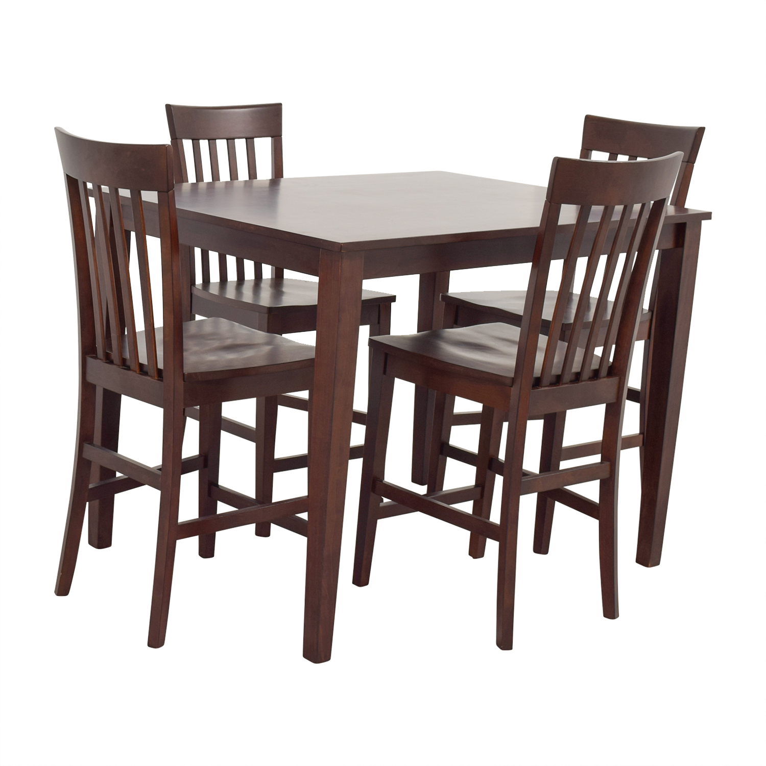 Raymour and Flanigan Raymour & Flanigan Bellanest Counter Height Dining Set Dining Sets