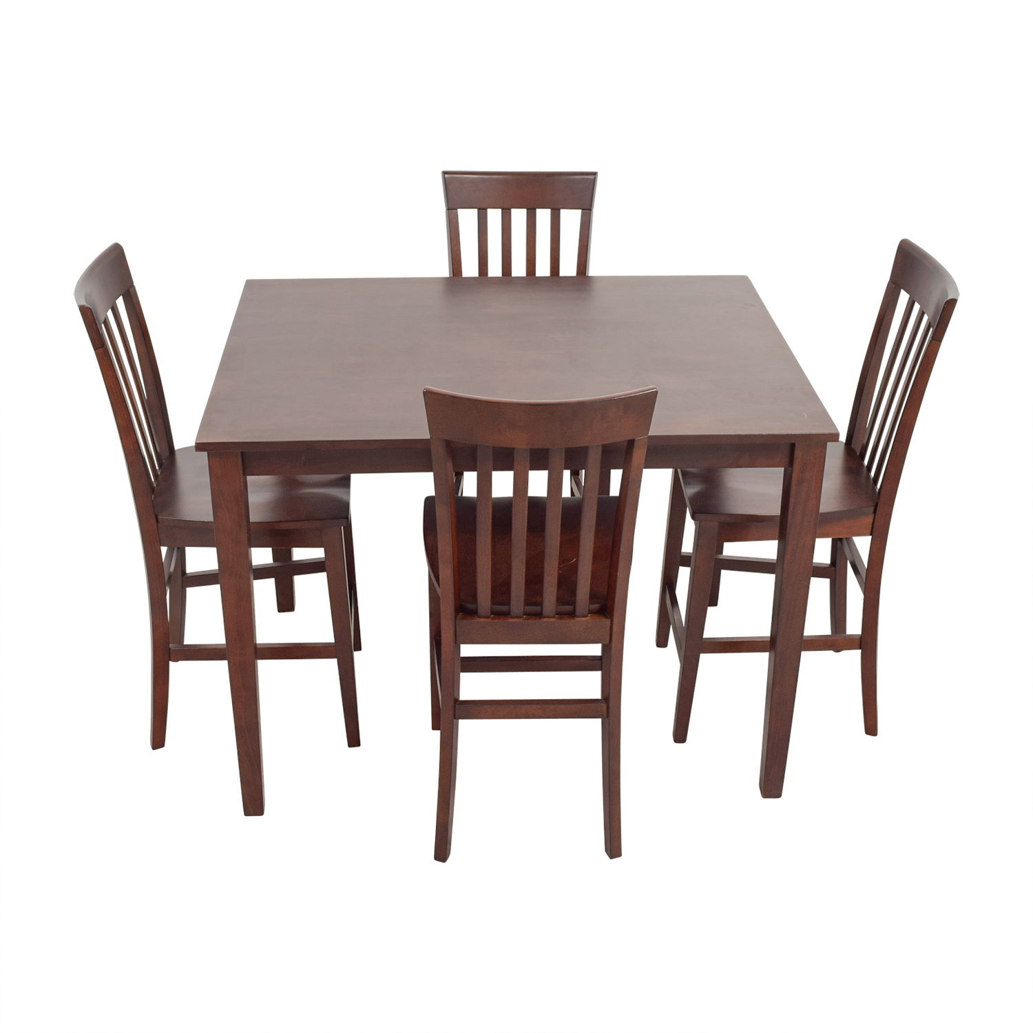 Raymour and Flanigan Raymour & Flanigan Bellanest Counter Height Dining Set for sale