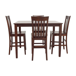 Raymour and Flanigan Raymour & Flanigan Bellanest Counter Height Dining Set coupon