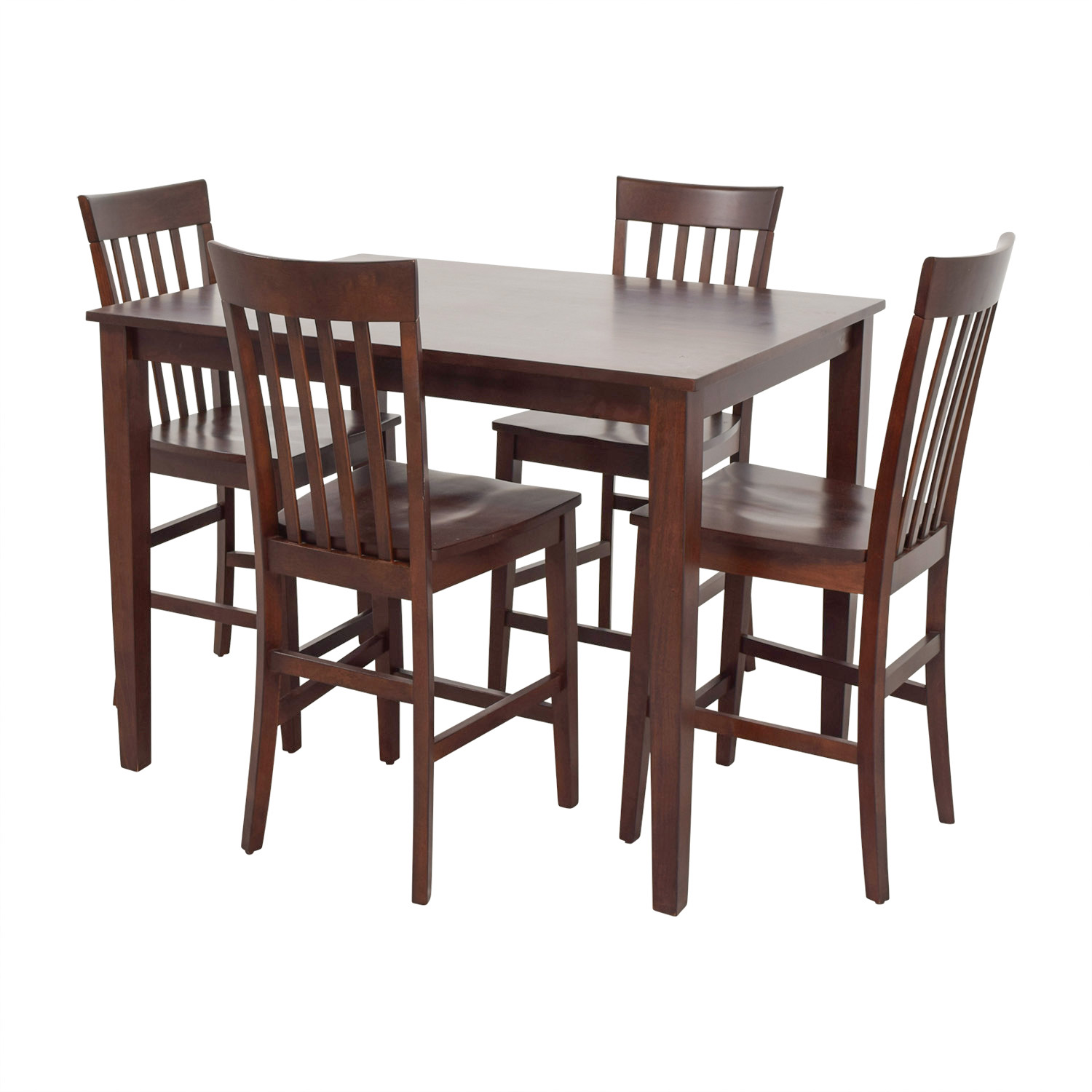 Raymour & Flanigan Bellanest Counter Height Dining Set Raymour and Flanigan