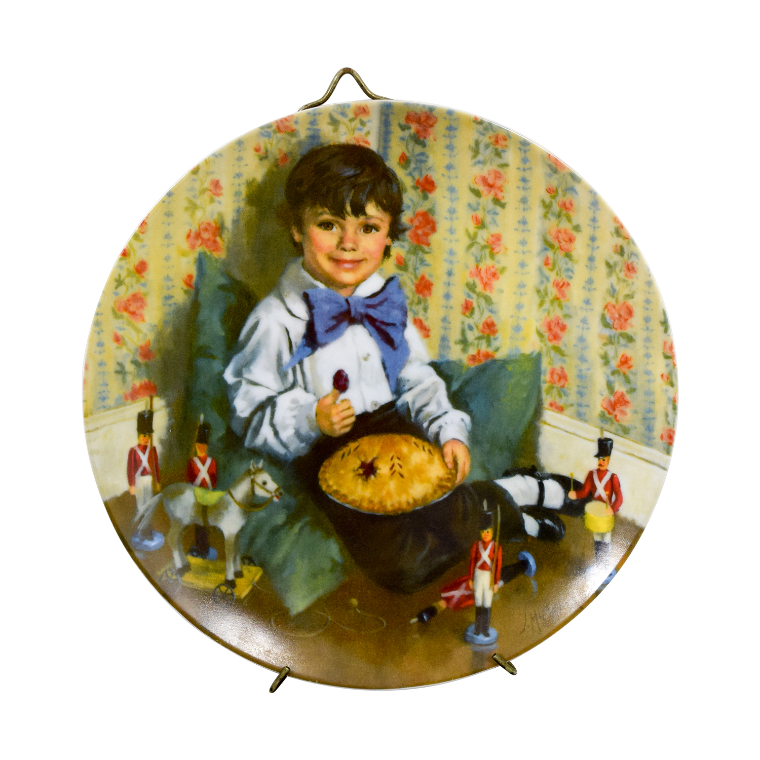 Edward M. Knowles Edward M. Knowles Norman Rockwell Little Jack Horner Plate discount