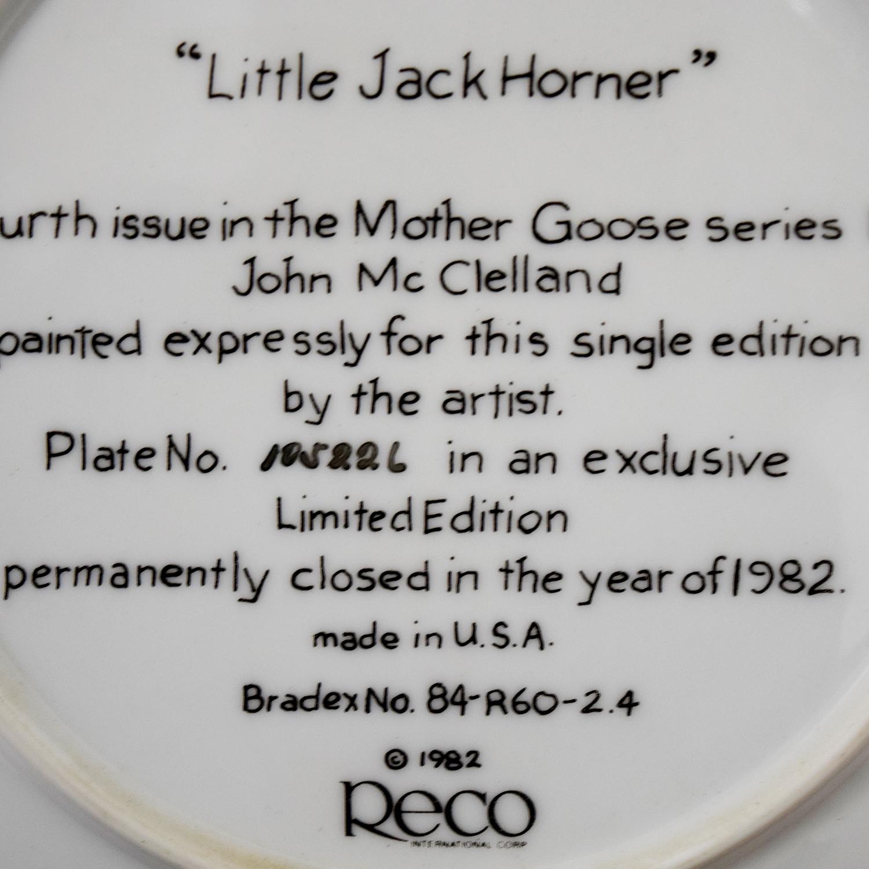 buy Edward M. Knowles Norman Rockwell Little Jack Horner Plate Edward M. Knowles Wall Art