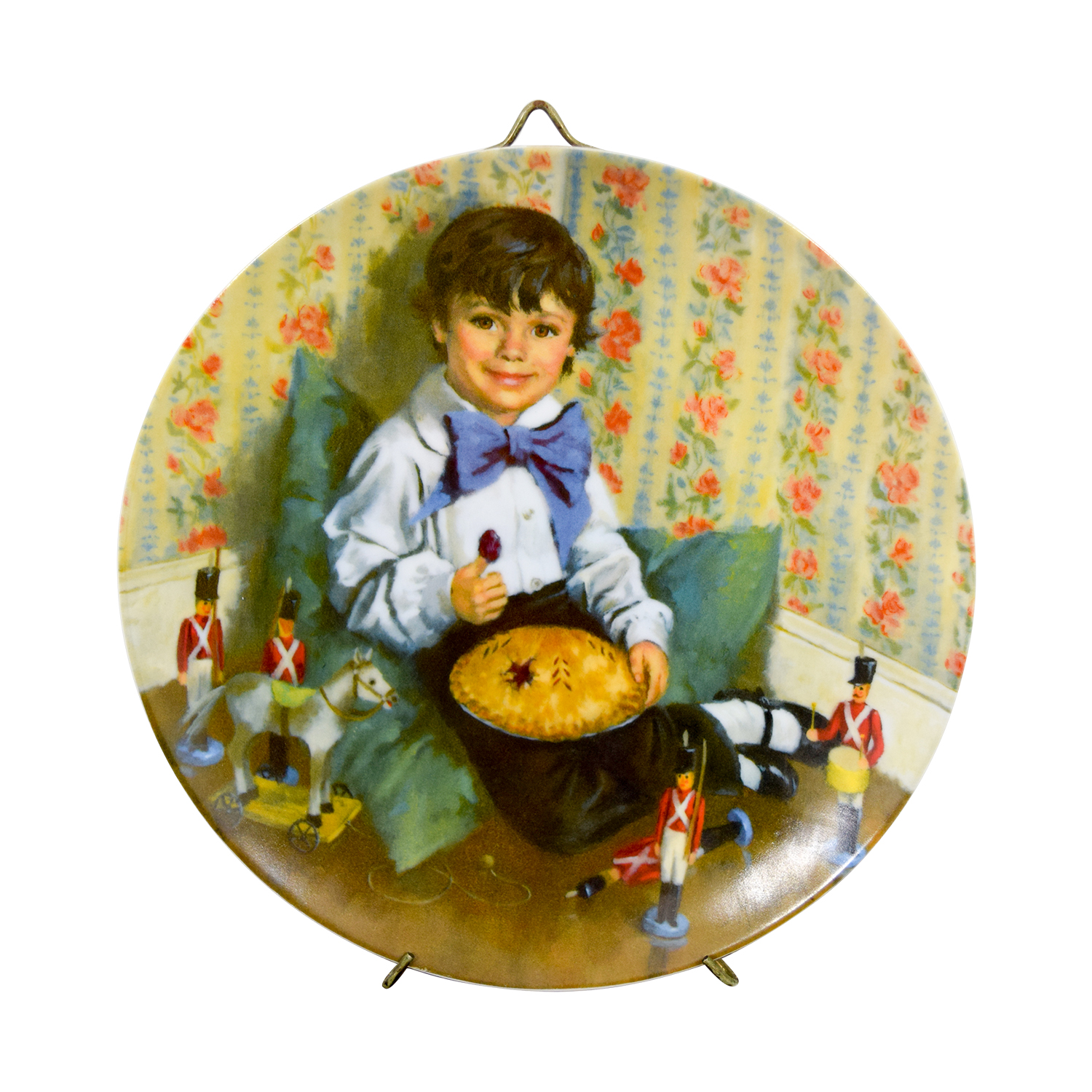 Edward M. Knowles Norman Rockwell Little Jack Horner Plate Edward M. Knowles