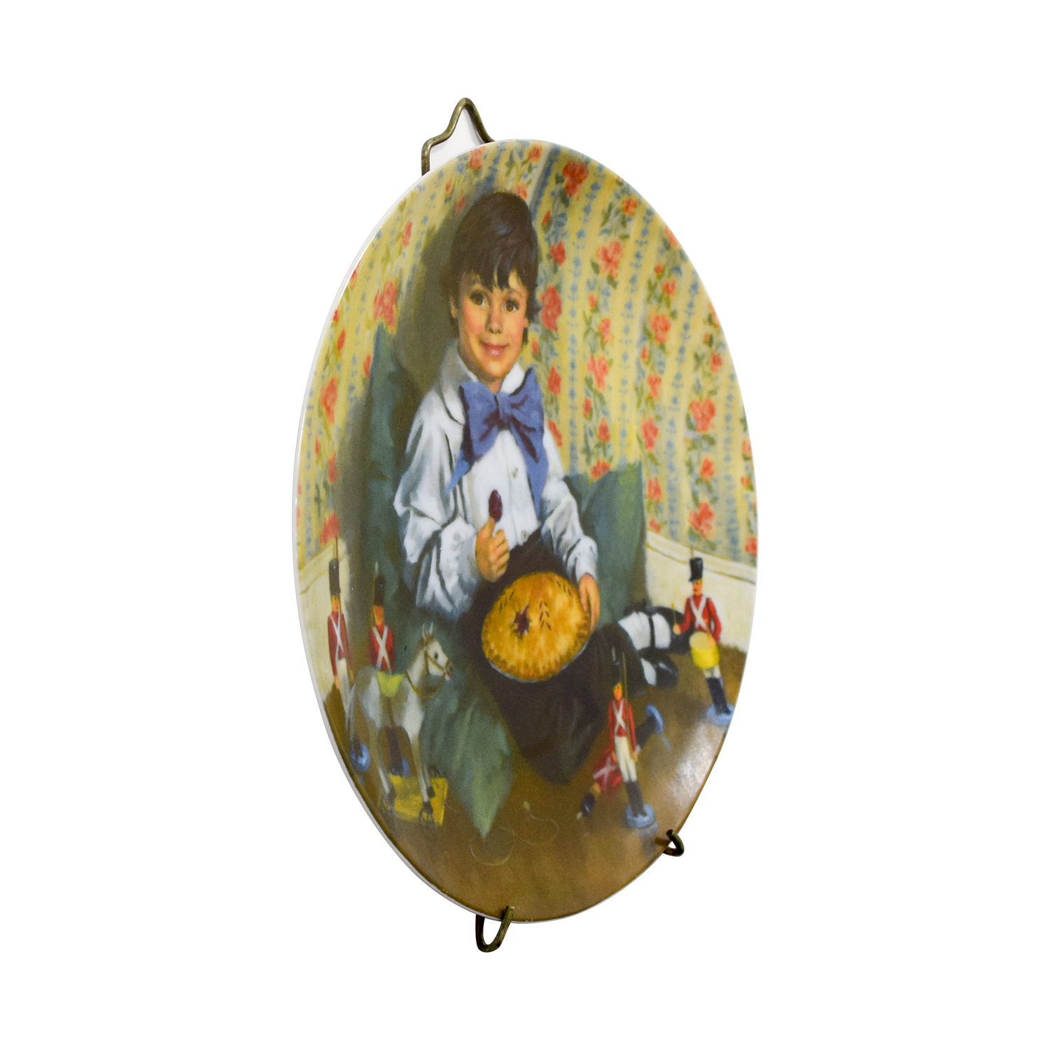 buy Edward M. Knowles Norman Rockwell Little Jack Horner Plate Edward M. Knowles Wall Art