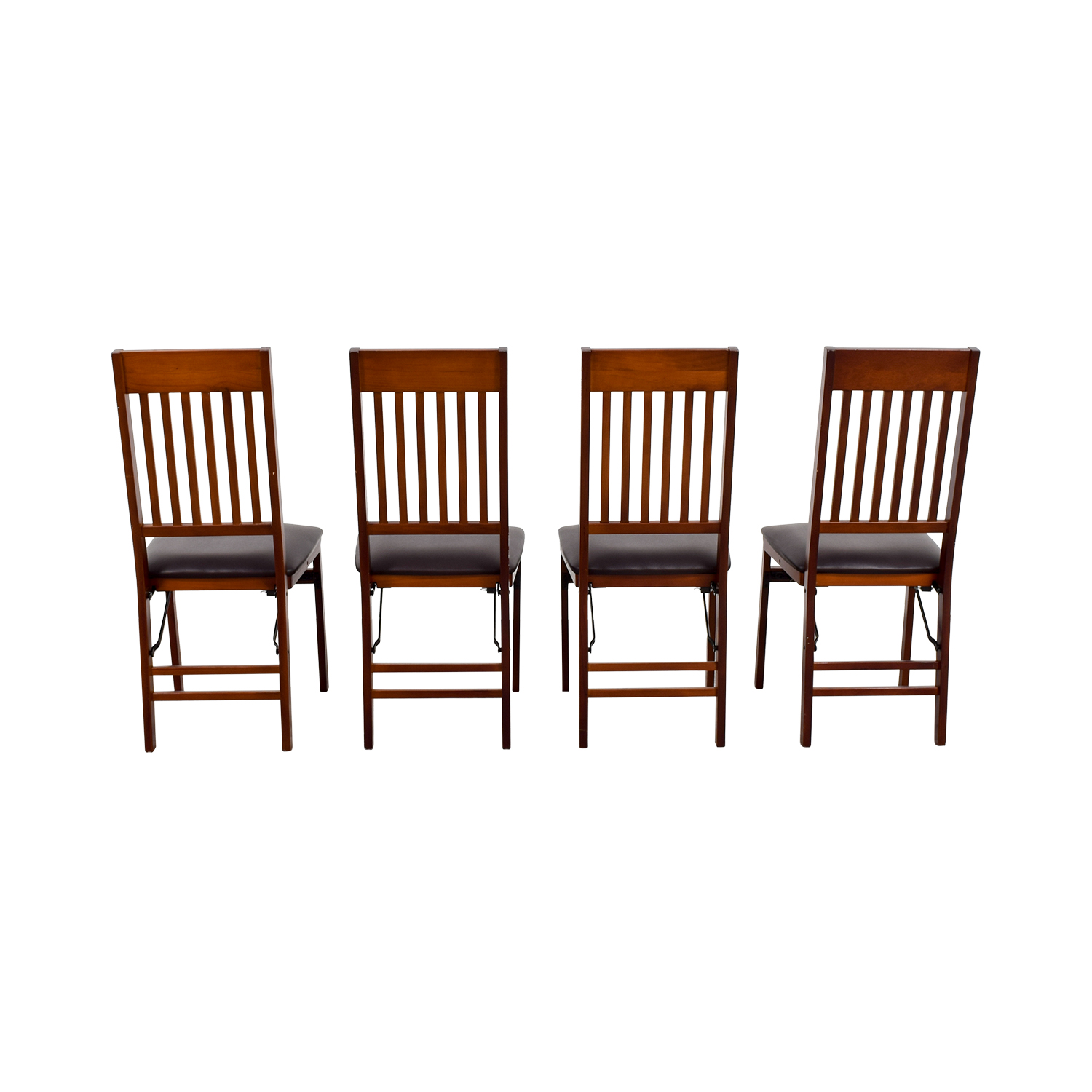 Bed Bath and Beyond Brown Folding Chairs / Chairs