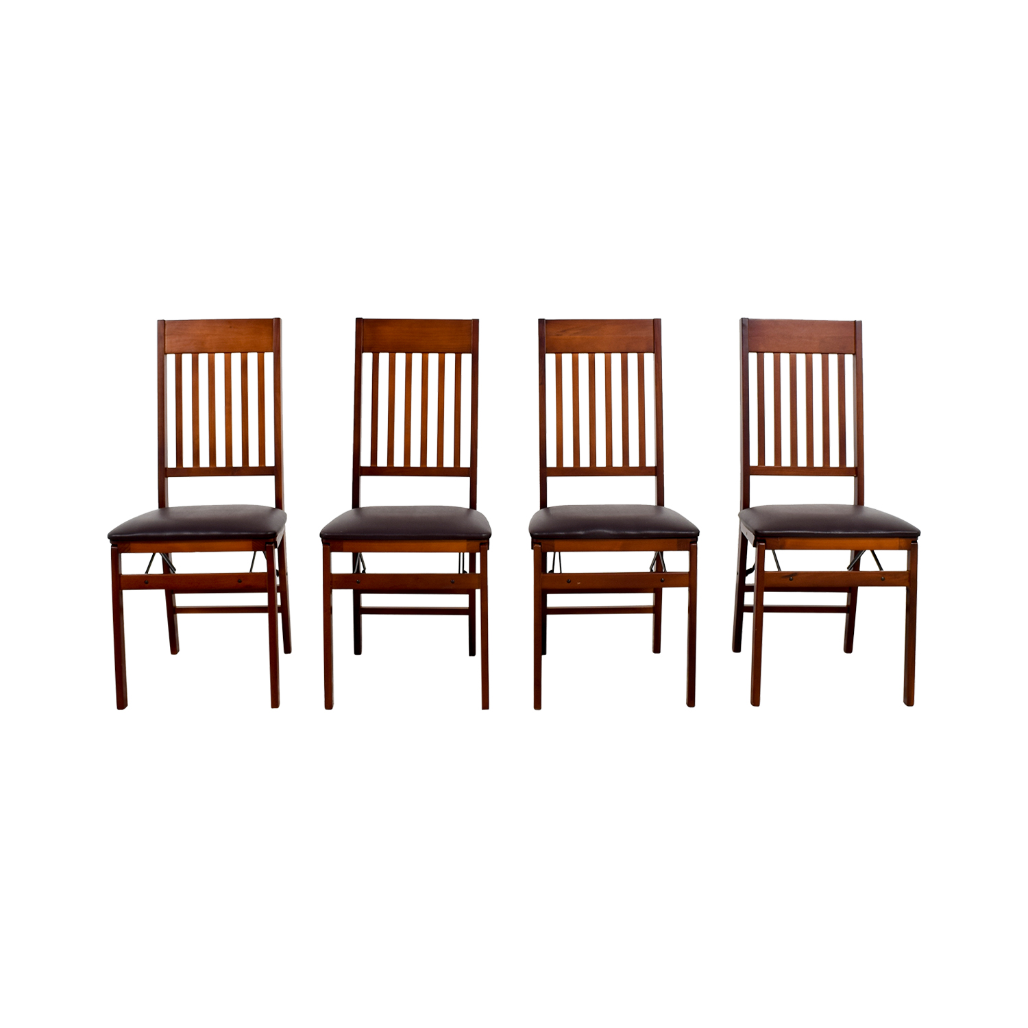Bed Bath and Beyond Bed Bath and Beyond Brown Folding Chairs used