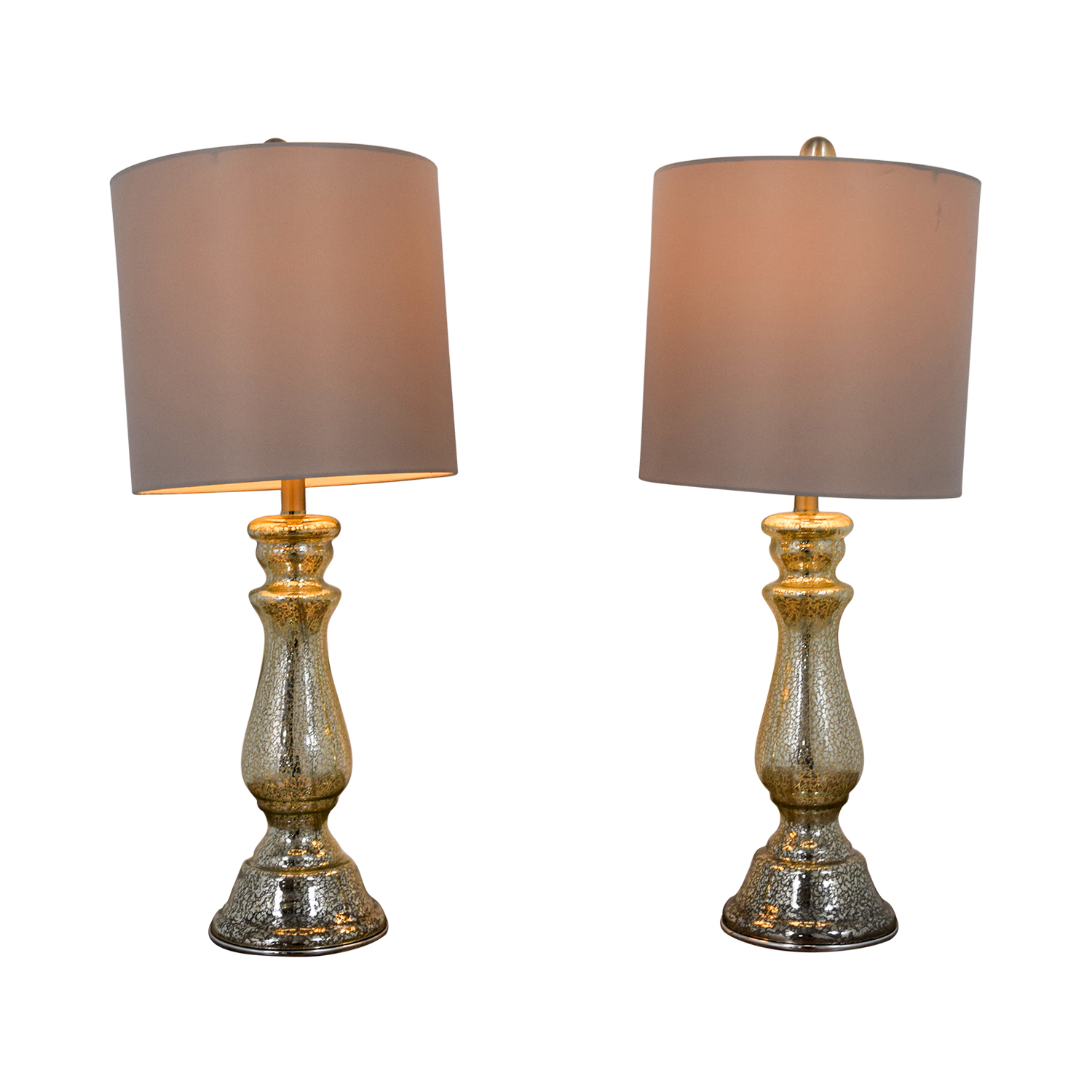 Mercury Glass Table Lamps dimensions