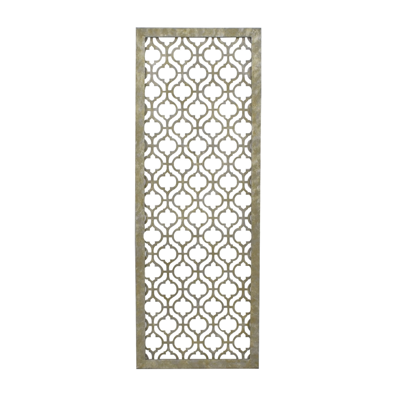 shop Pier 1 Imports Trellis Metal Wall Panel Pier 1 Imports Decorative Accents
