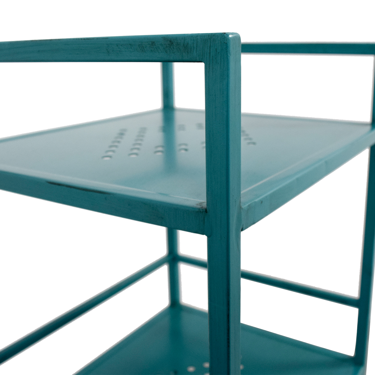 Pier 1 Imports Pier 1 Imports Weldon Turquoise Metal High Shelf second hand