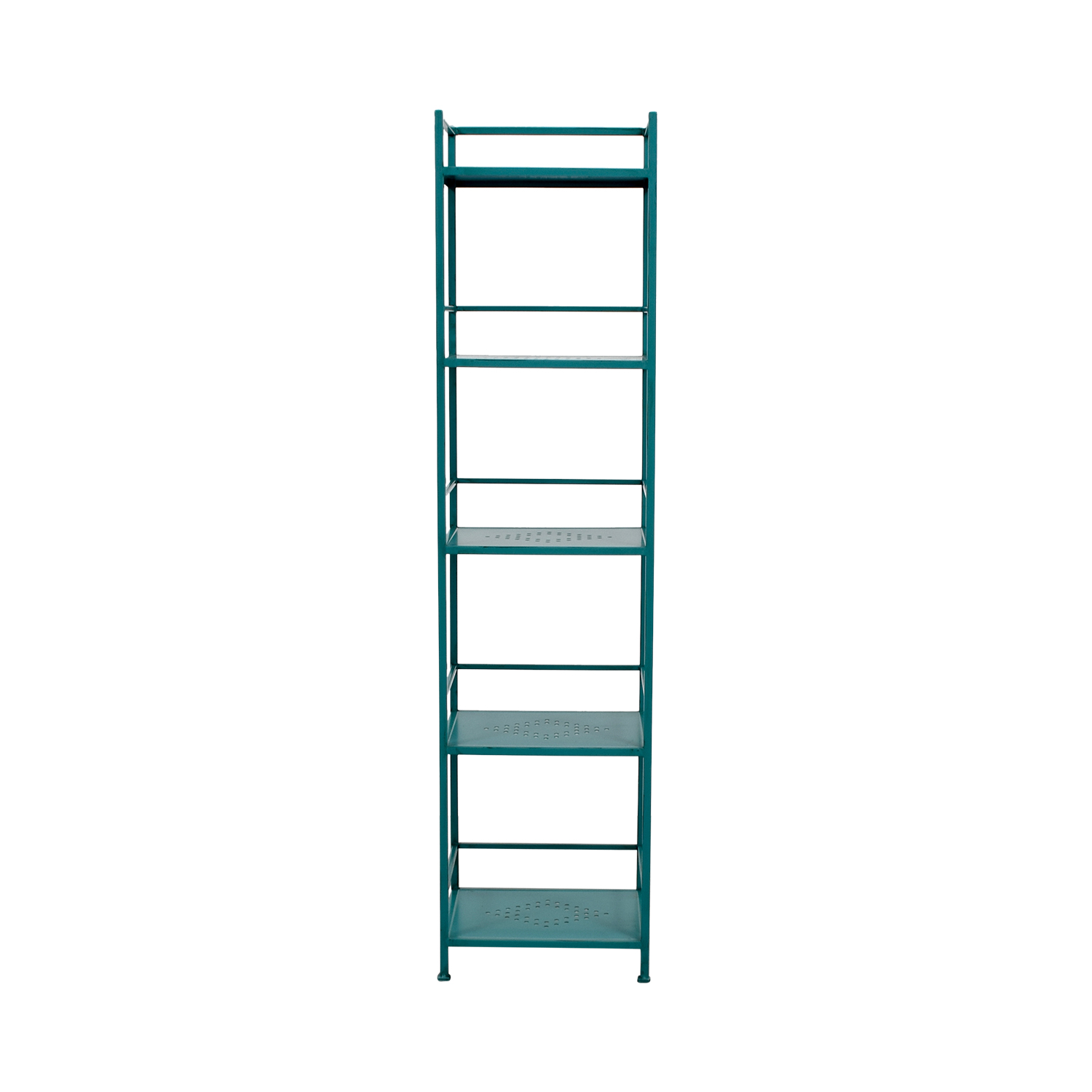 buy Pier 1 Imports Weldon Turquoise Metal High Shelf Pier 1 Imports Storage