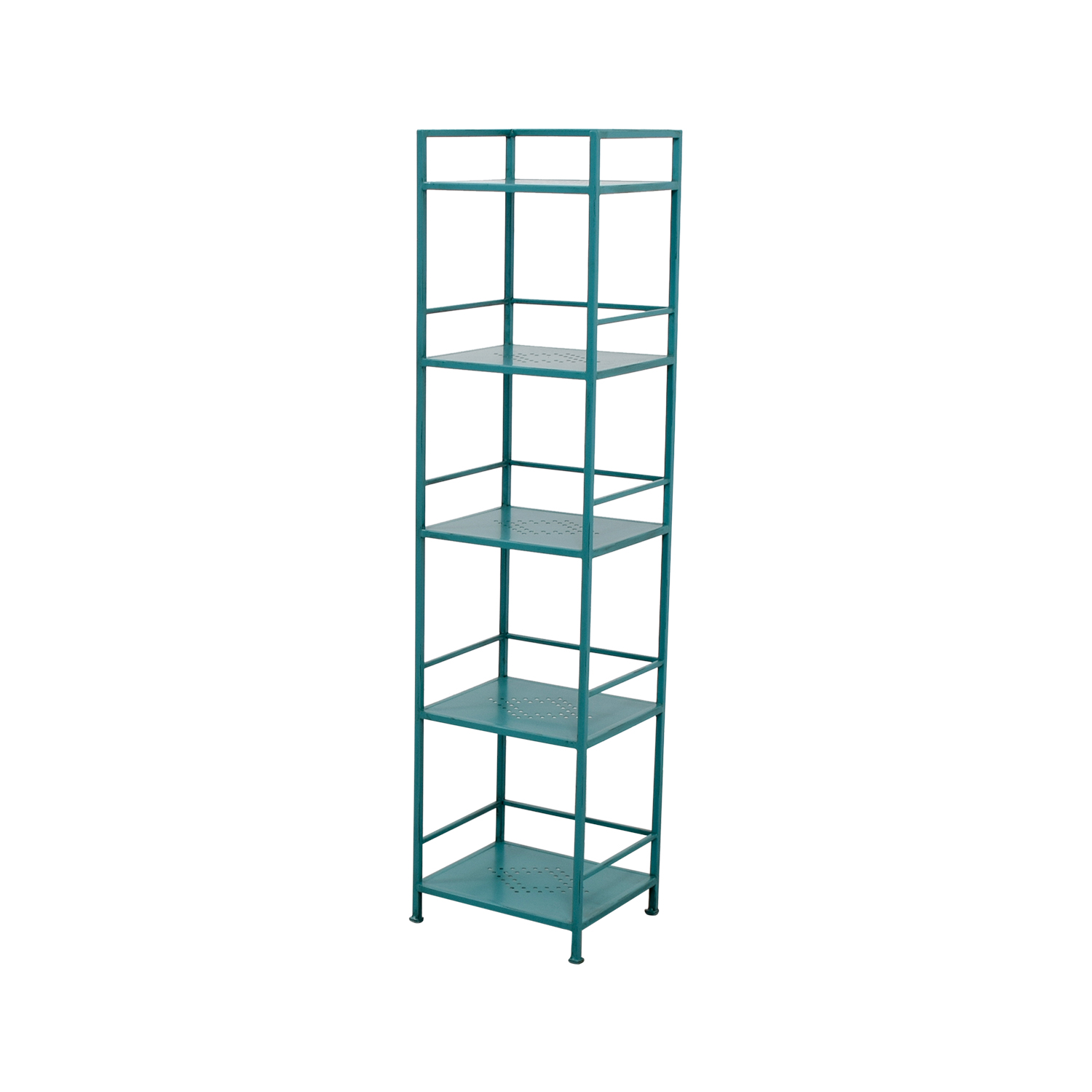 Pier 1 Imports Pier 1 Imports Weldon Turquoise Metal High Shelf coupon