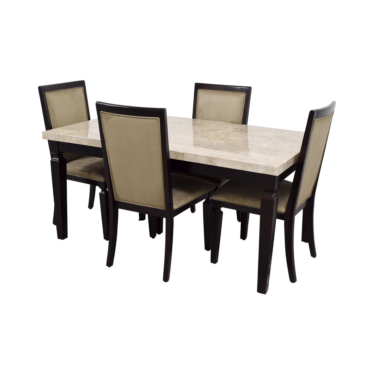 50% OFF   Raymour U0026 Flanigan Raymour U0026 Flanigan Rogue Marble Dining Set /  Tables