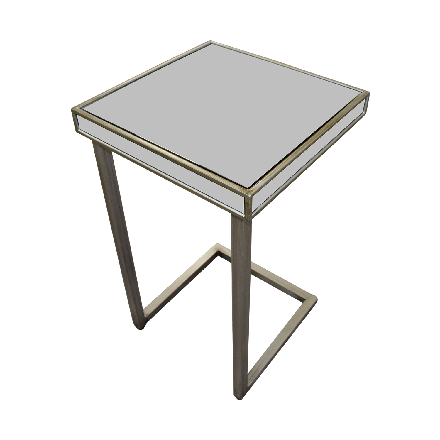 buy Pier 1 Imports Hayworth Silver C-Table in Mirror Pier 1 Imports Tables