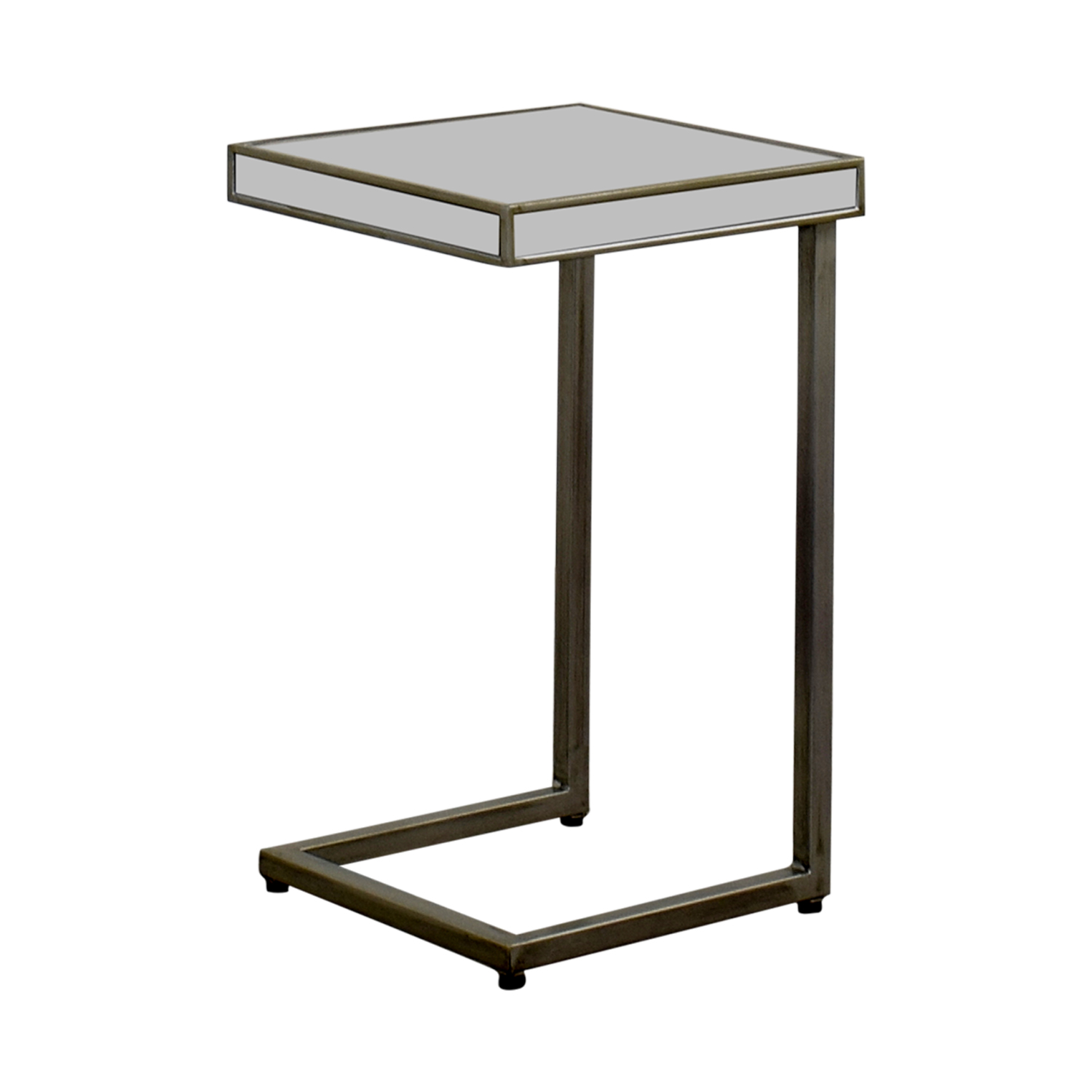Pier 1 Imports Pier 1 Imports Hayworth Silver C-Table in Mirror discount