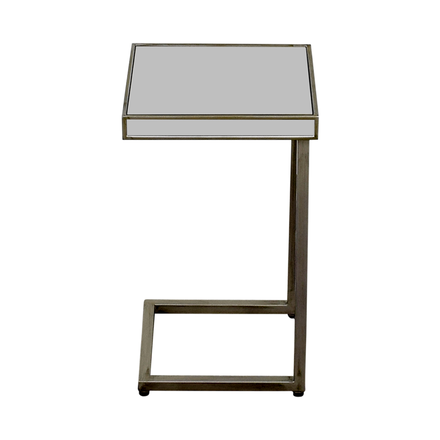 shop Pier 1 Imports Hayworth Silver C-Table in Mirror Pier 1 Imports