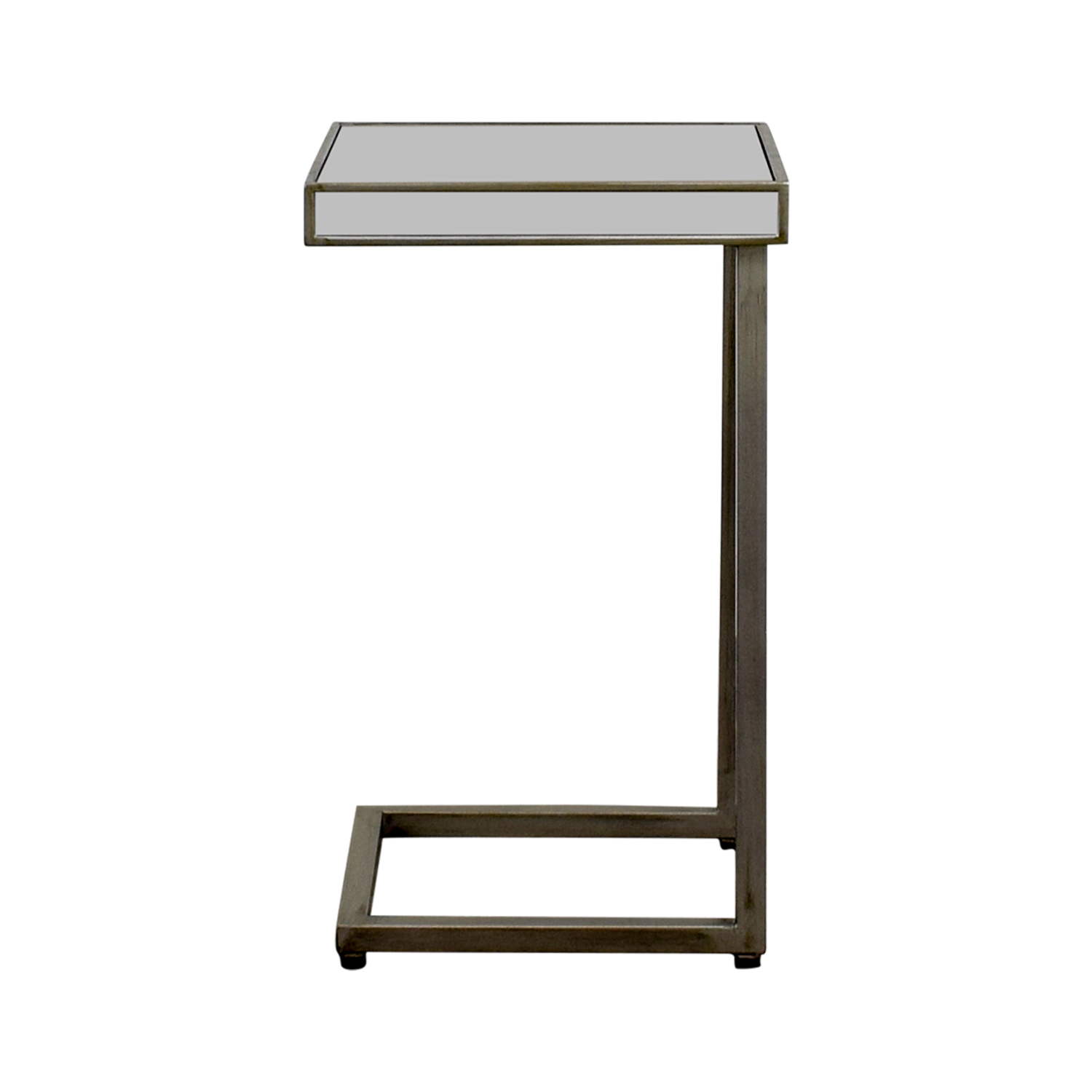 Pier 1 Imports Pier 1 Imports Hayworth Silver C-Table in Mirror on sale