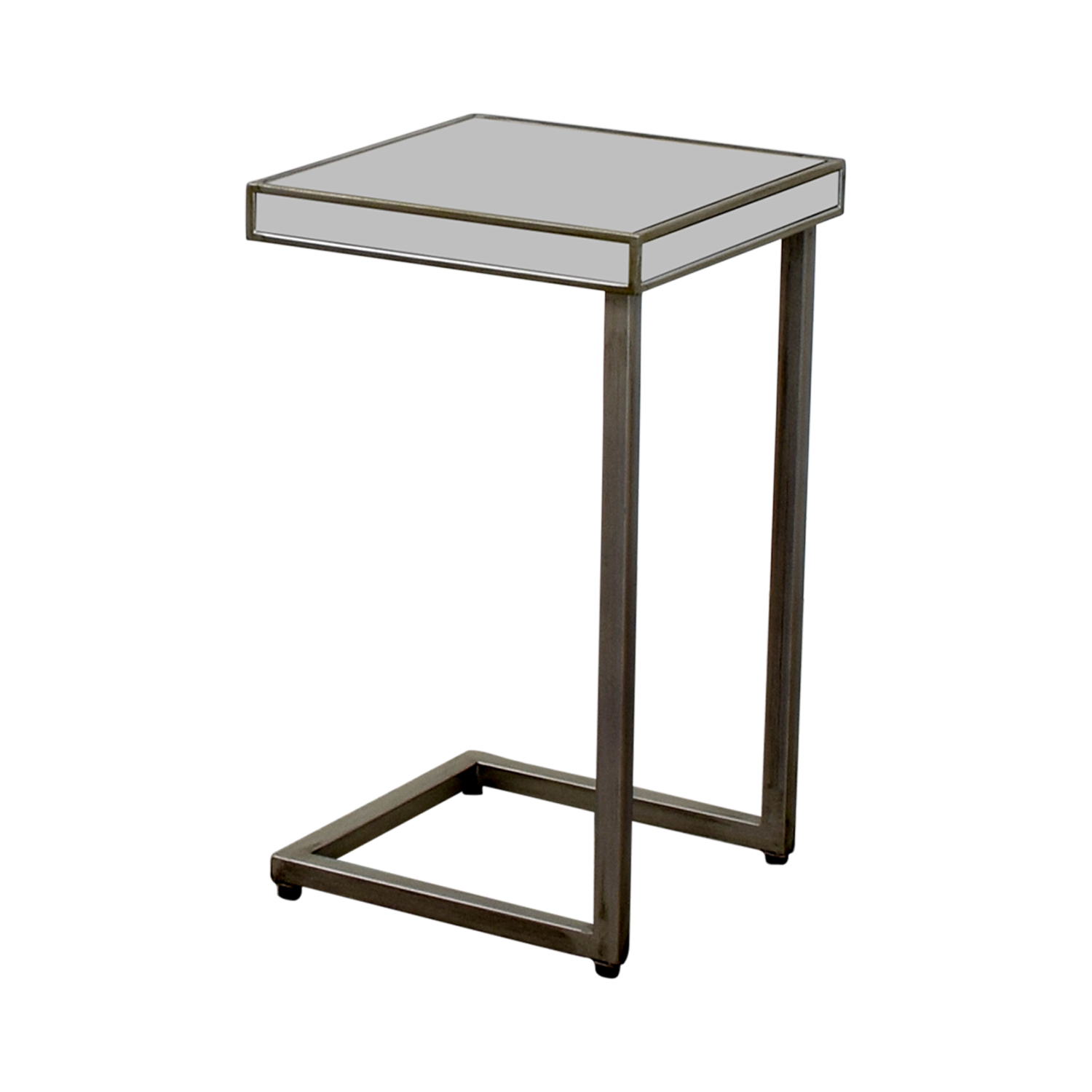 Pier 1 Imports Pier 1 Imports Hayworth Silver C-Table in Mirror dimensions