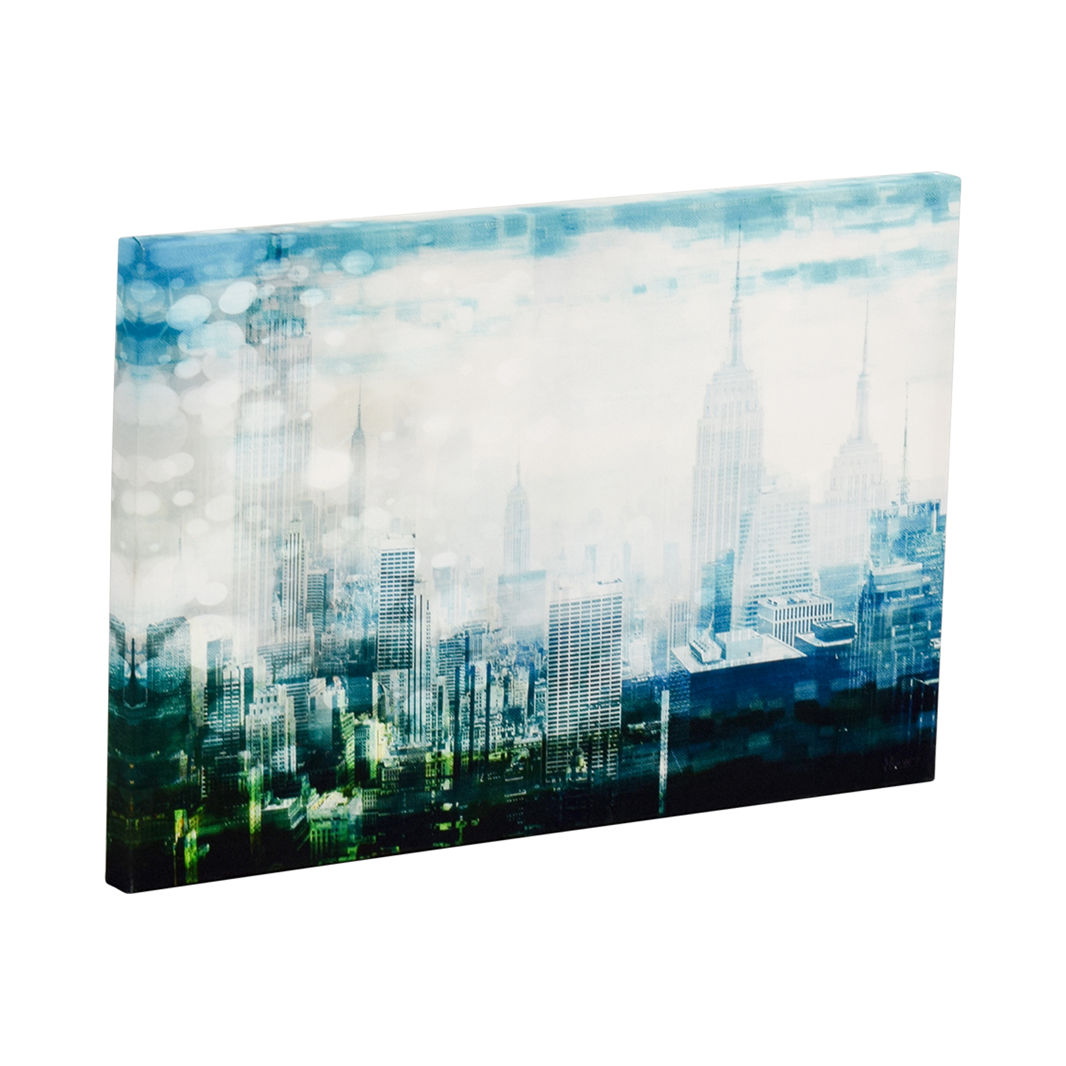 shop Kirklands New York Nights Canvas Print Kirklands Wall Art