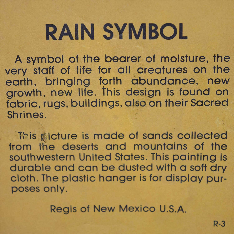 Regis of New Mexico Regis of New Mexico Rain Symbol Brown