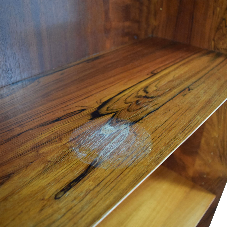 buy Danish Furniture Rosewood Bookcase Danish Furniture Bookcases & Shelving