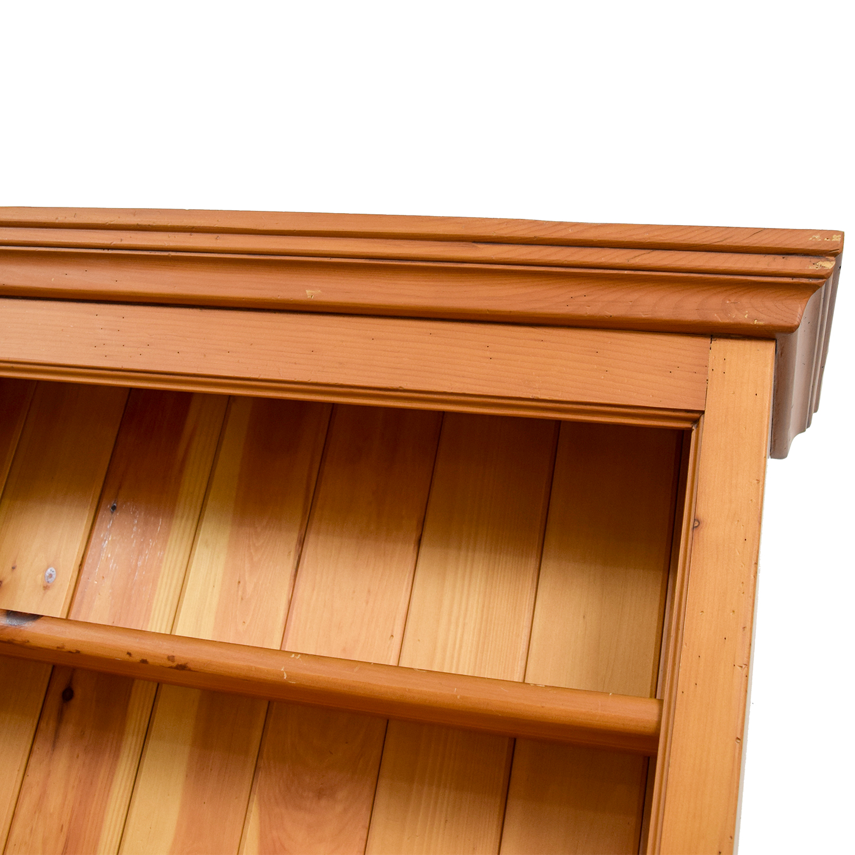 Crate and Barrel Crate & Barrel Walnut Bookcase for sale