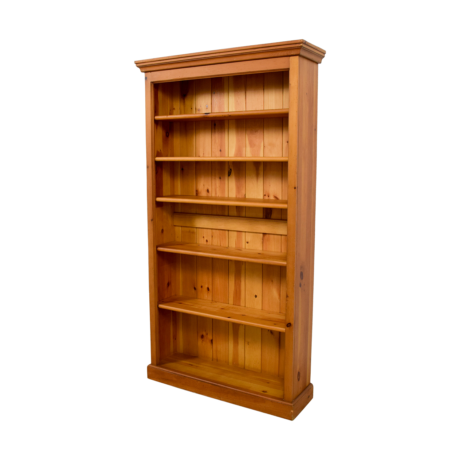 Crate and Barrel Crate & Barrel Walnut Bookcase nj