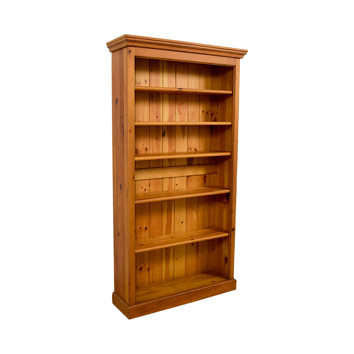 Crate and Barrel Crate & Barrel Walnut Bookcase second hand
