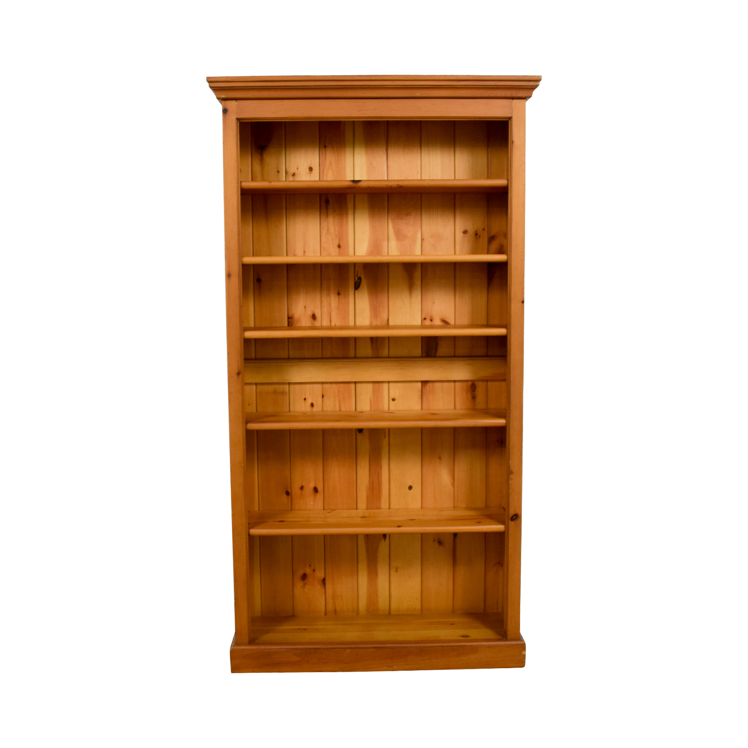 shop Crate & Barrel Walnut Bookcase Crate and Barrel Storage