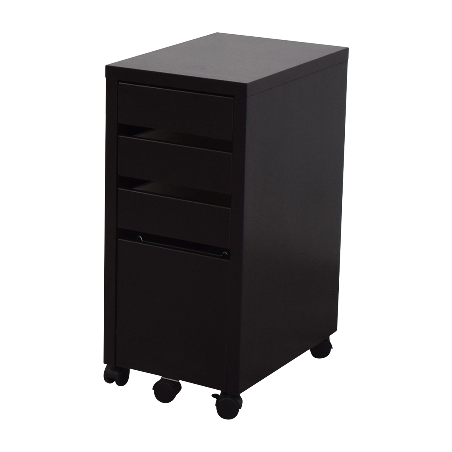 buy Staples Black File Cabinet Staples Filing & Bins