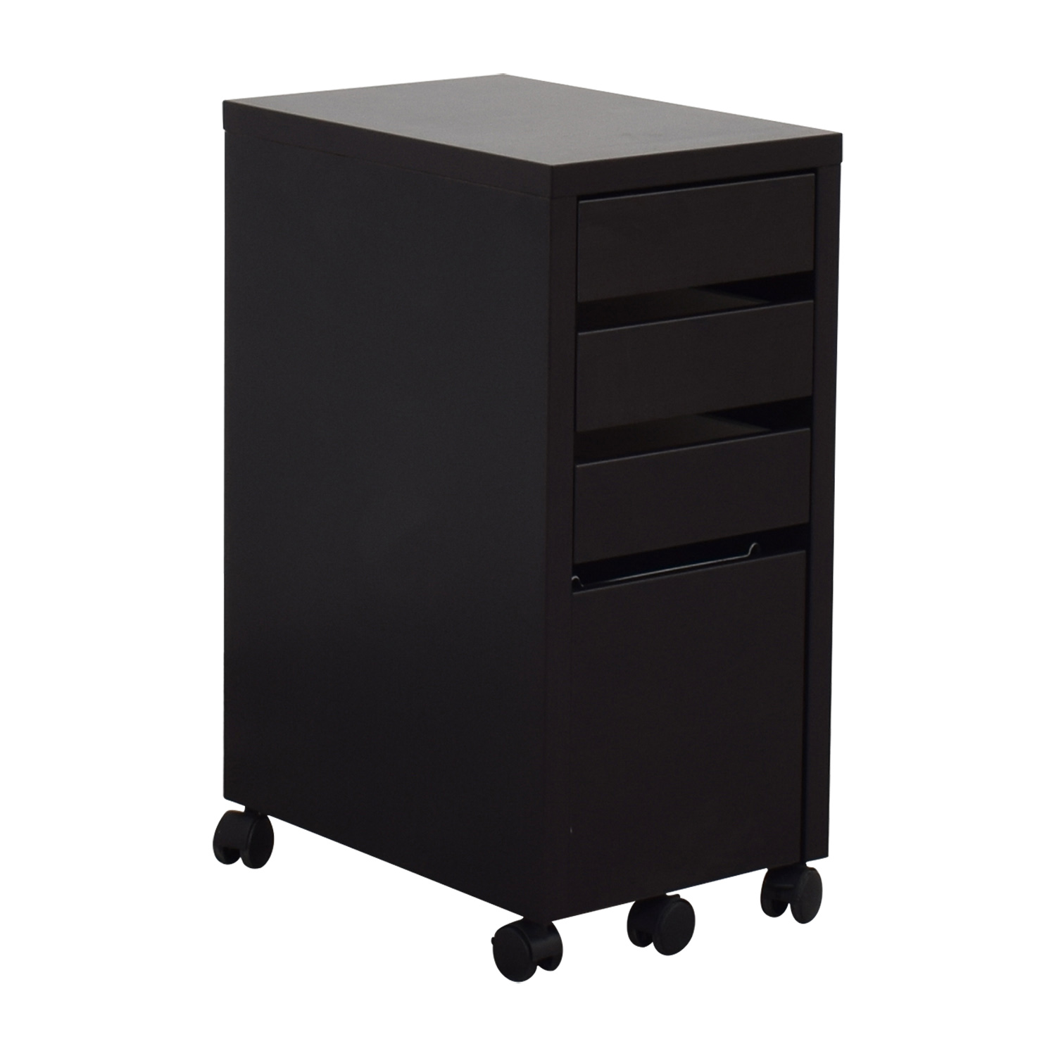 Staples Black File Cabinet / Filing & Bins