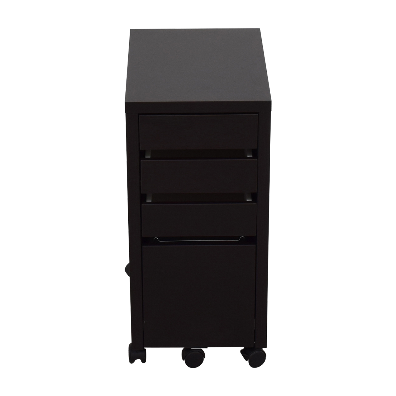 Staples Staples Black File Cabinet