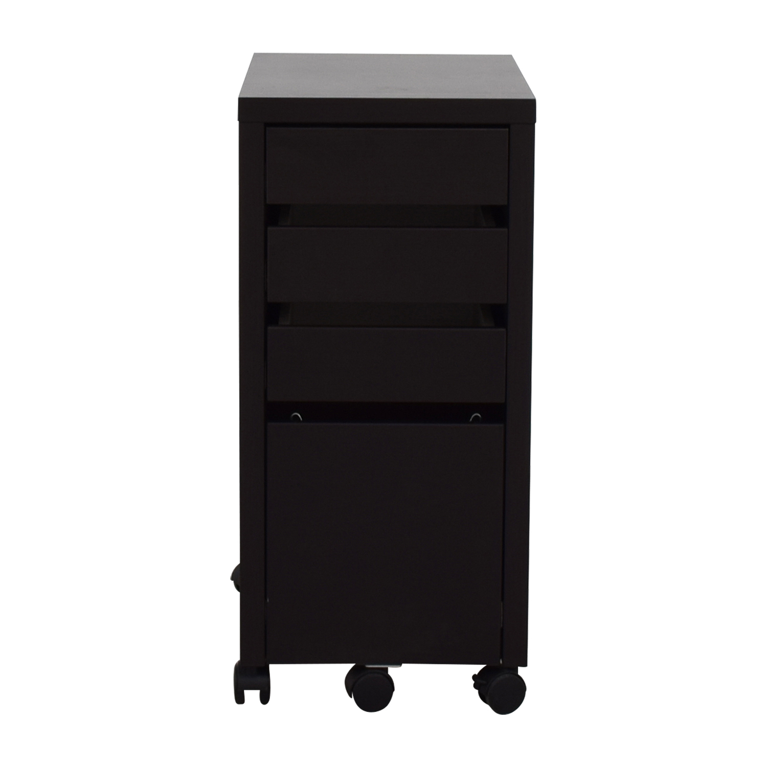 Staples Staples Black File Cabinet on sale