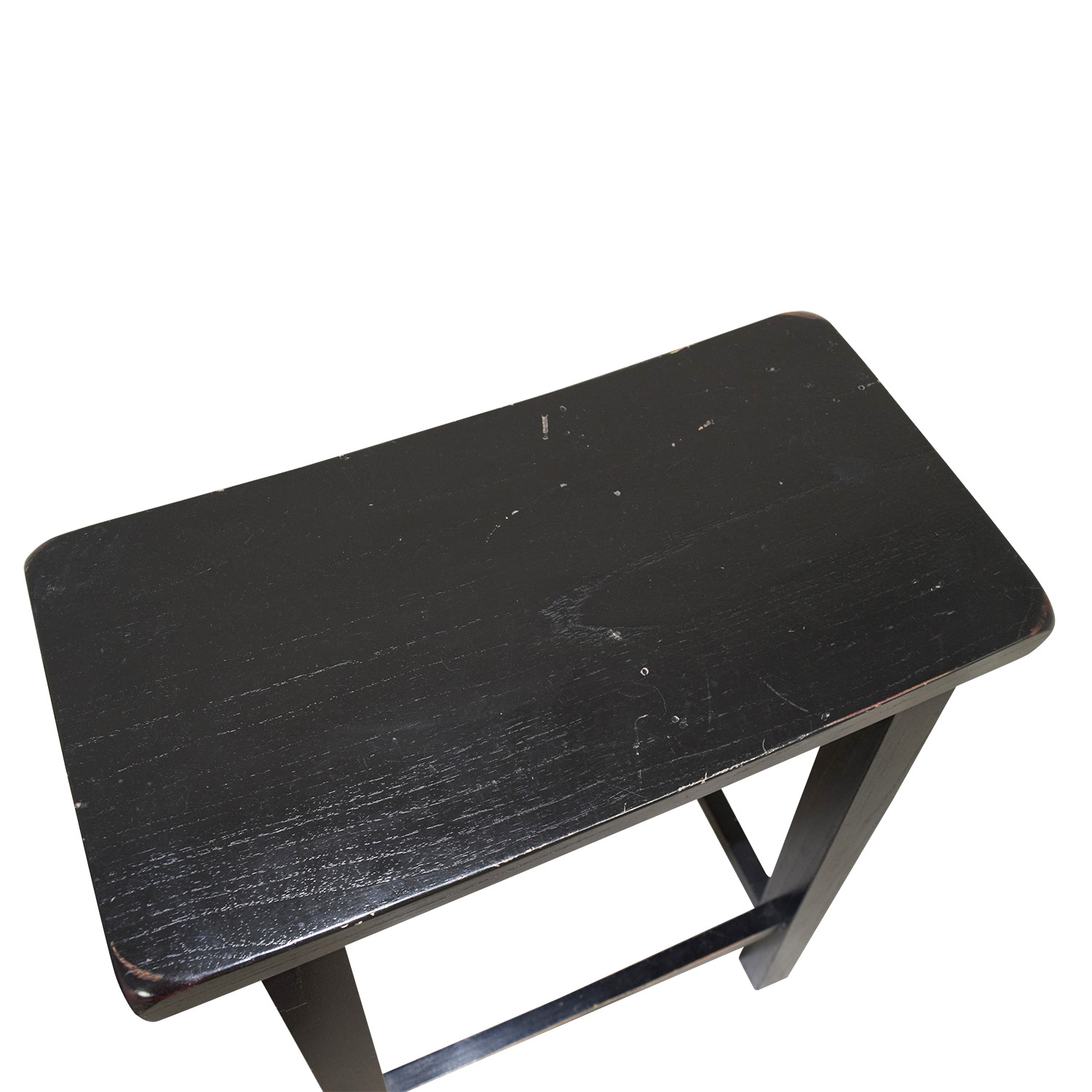 buy West Elm Black Solid Wood Stools West Elm Stools