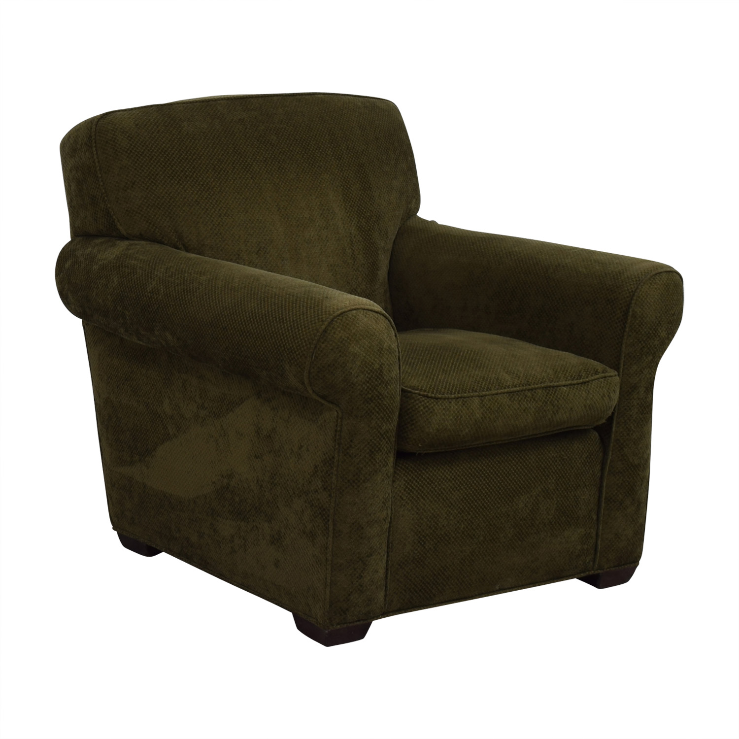 Large Olive Green Accent Chair nyc