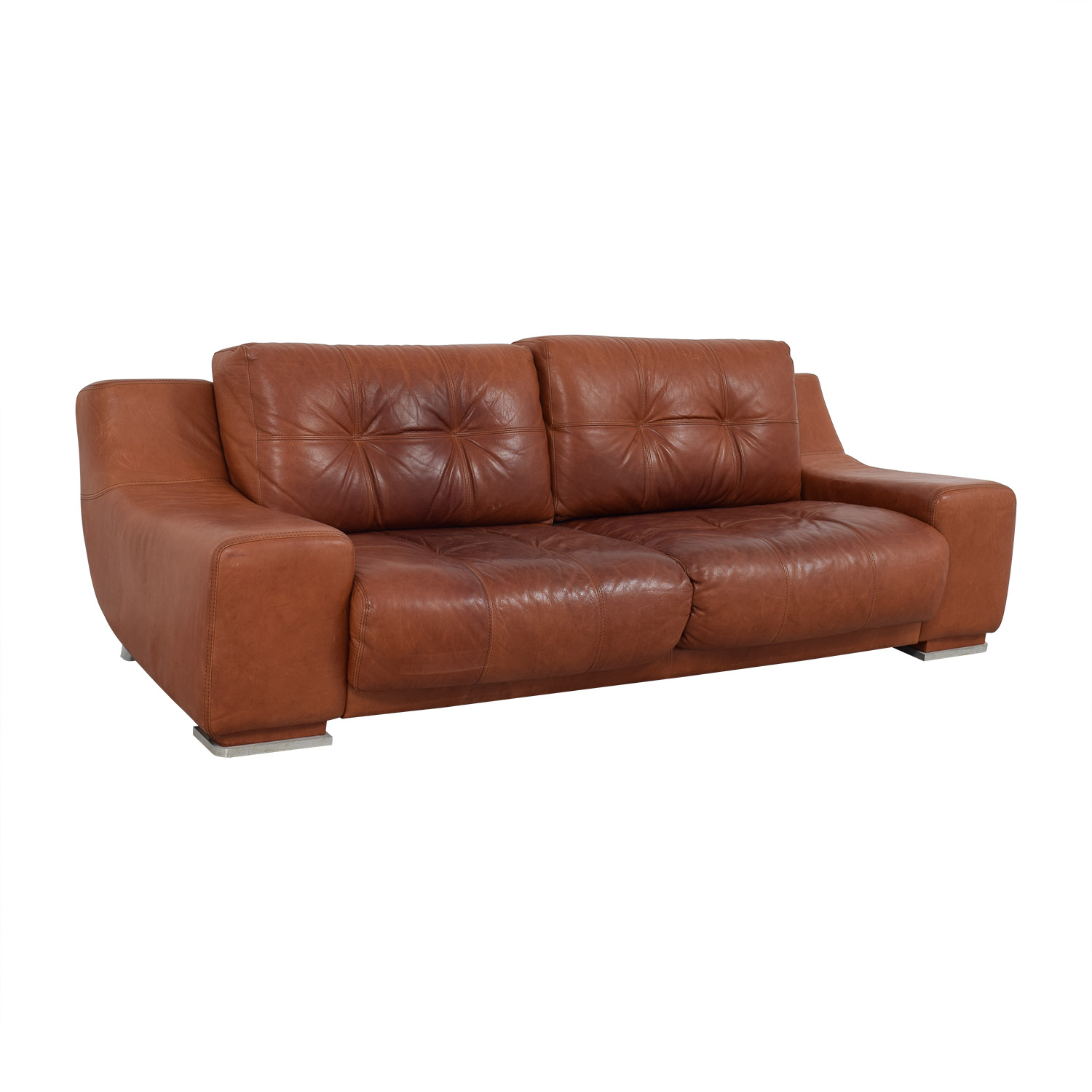 shop Contempo Leather Sofa Contempo