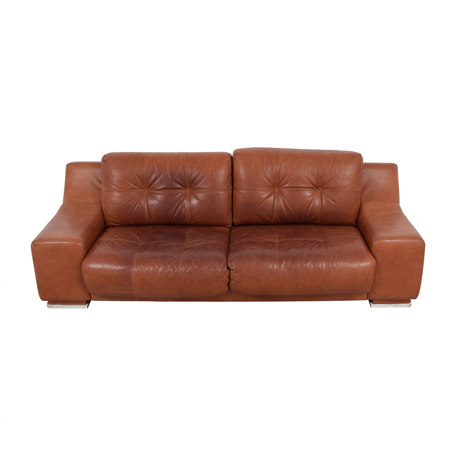 Contempo Contempo Leather Sofa discount