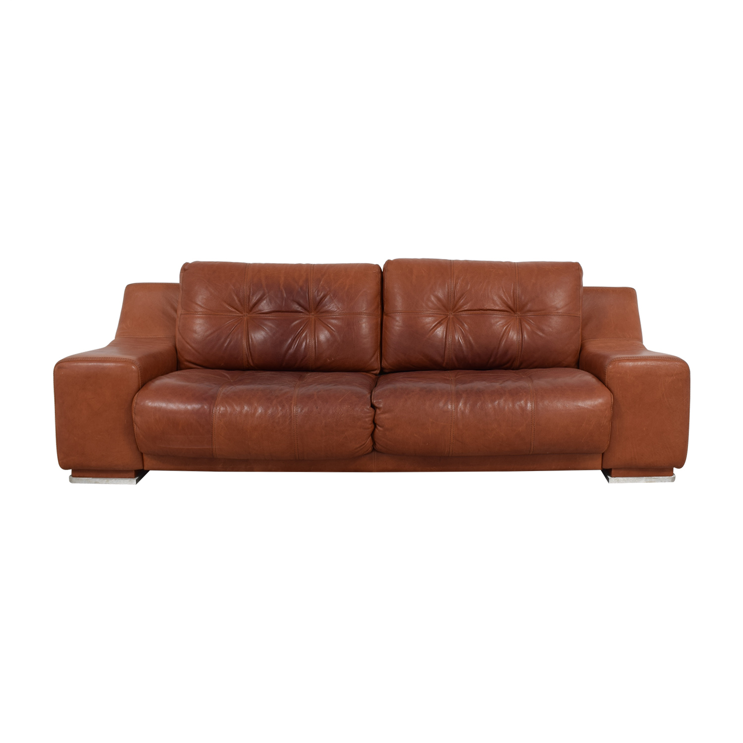Contempo Contempo Leather Sofa coupon