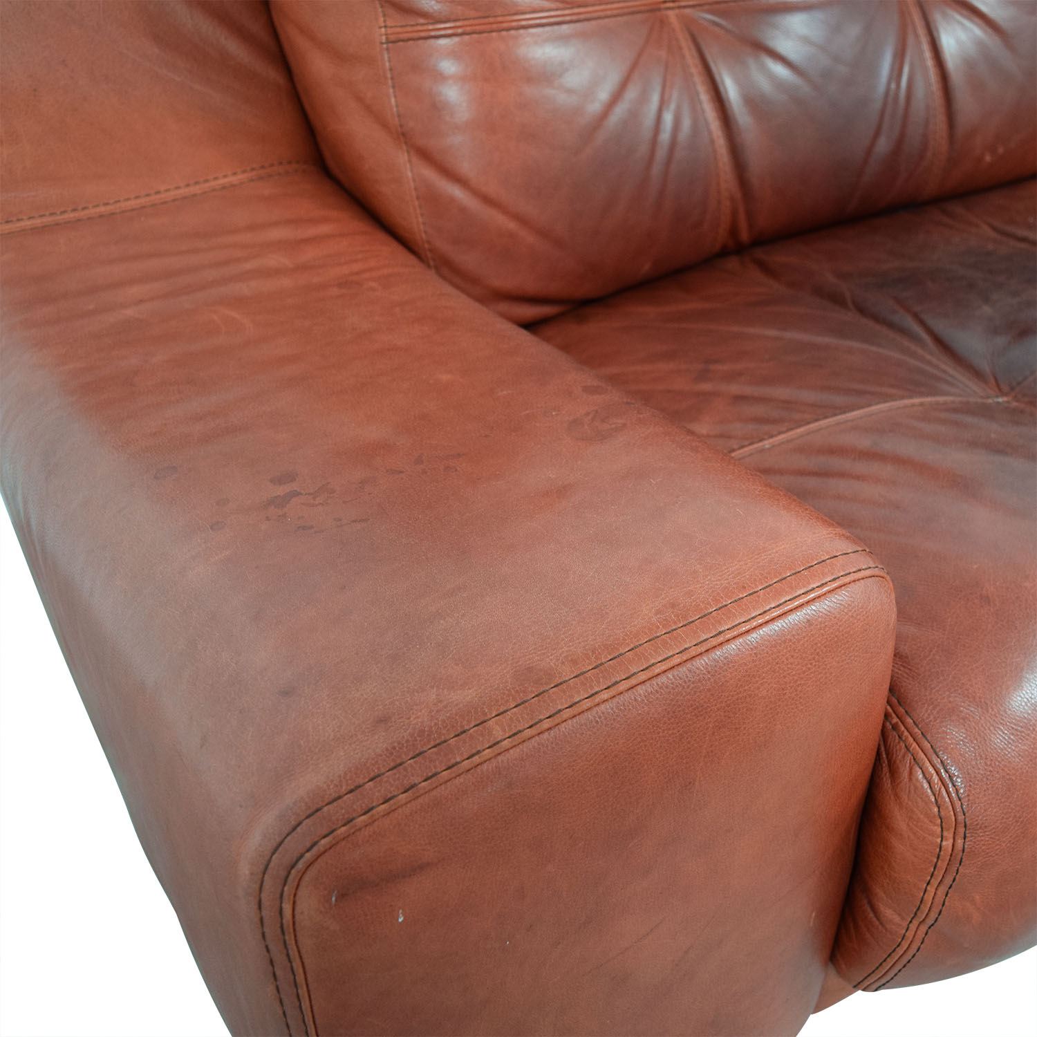 Contempo Contempo Leather Sofa nyc
