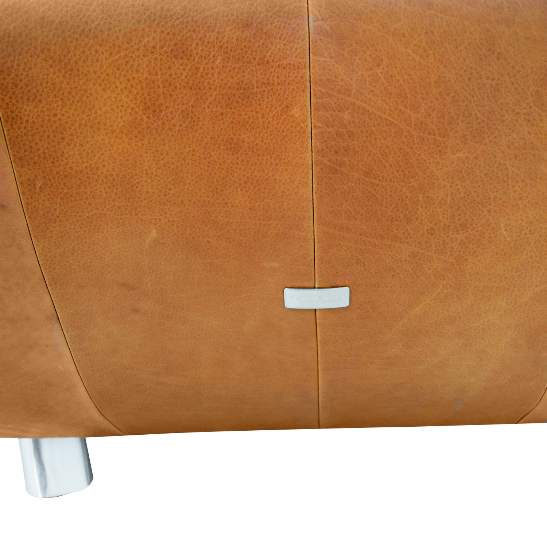Contempo Contempo Leather Accent Chair for sale