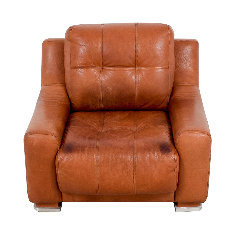Contempo Contempo Leather Accent Chair price