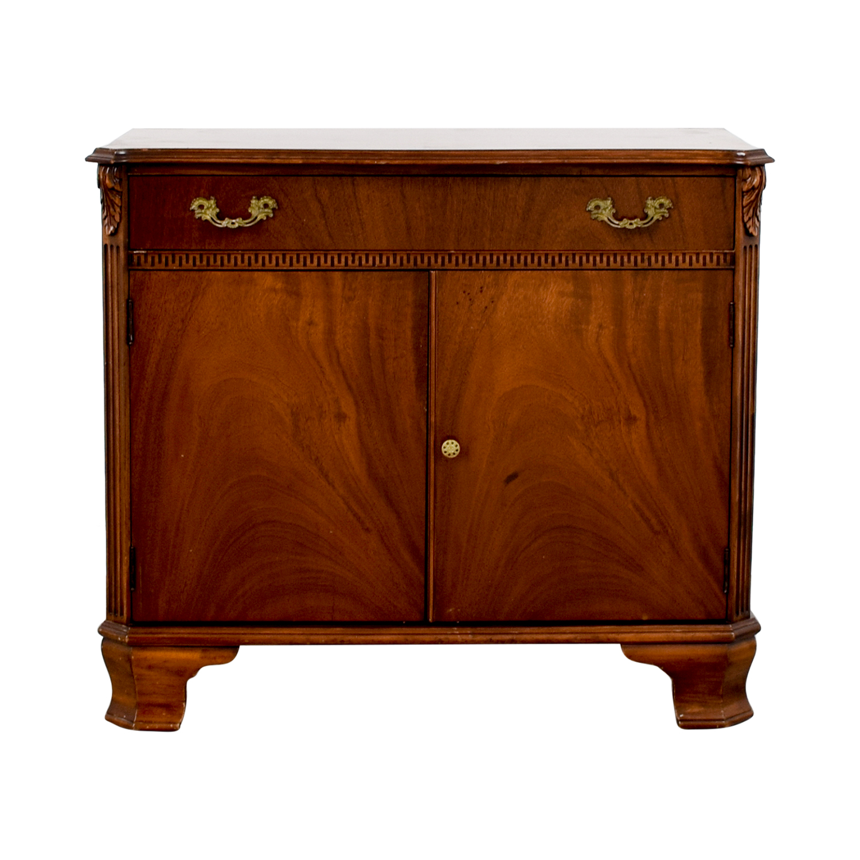 John Stuart Inc. John Stuart Inc. Antique One-Drawer with Storage Sideboard nj