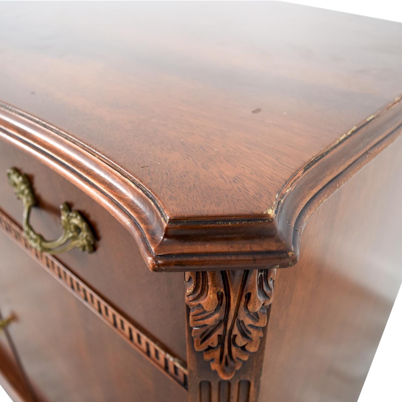 ... John Stuart Inc. John Stuart Inc. Antique One Drawer With Storage  Sideboard For