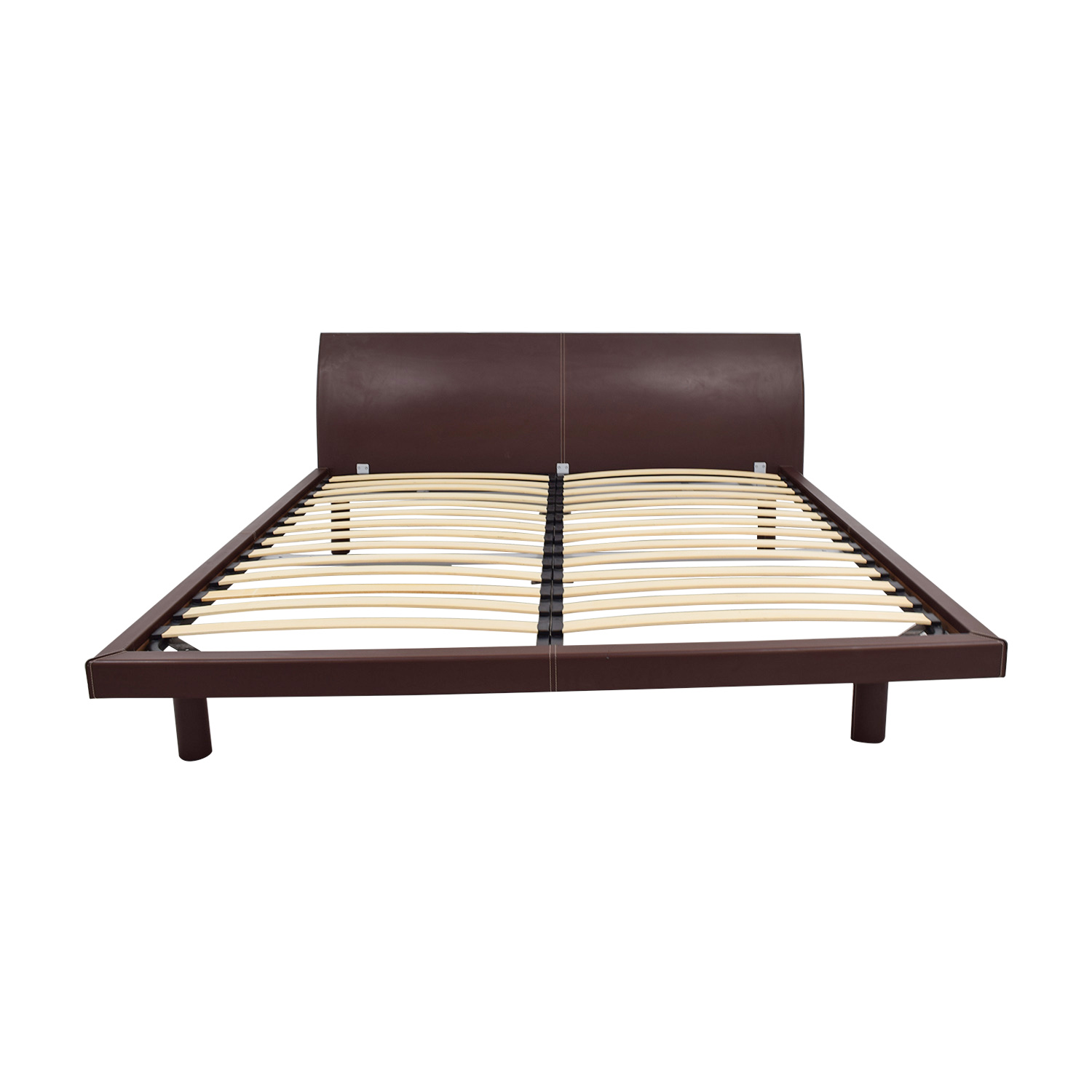 buy Calligaris Concorde Leather King Bed Calligaris Bed Frames