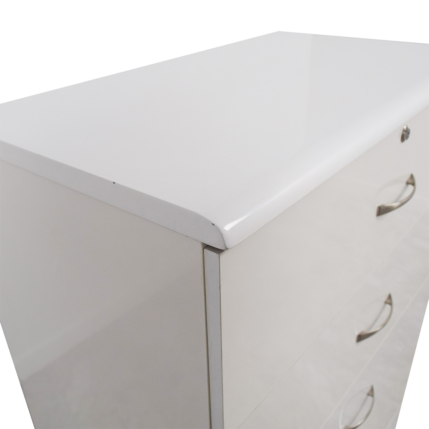 shop White Five-Drawer Dresser online