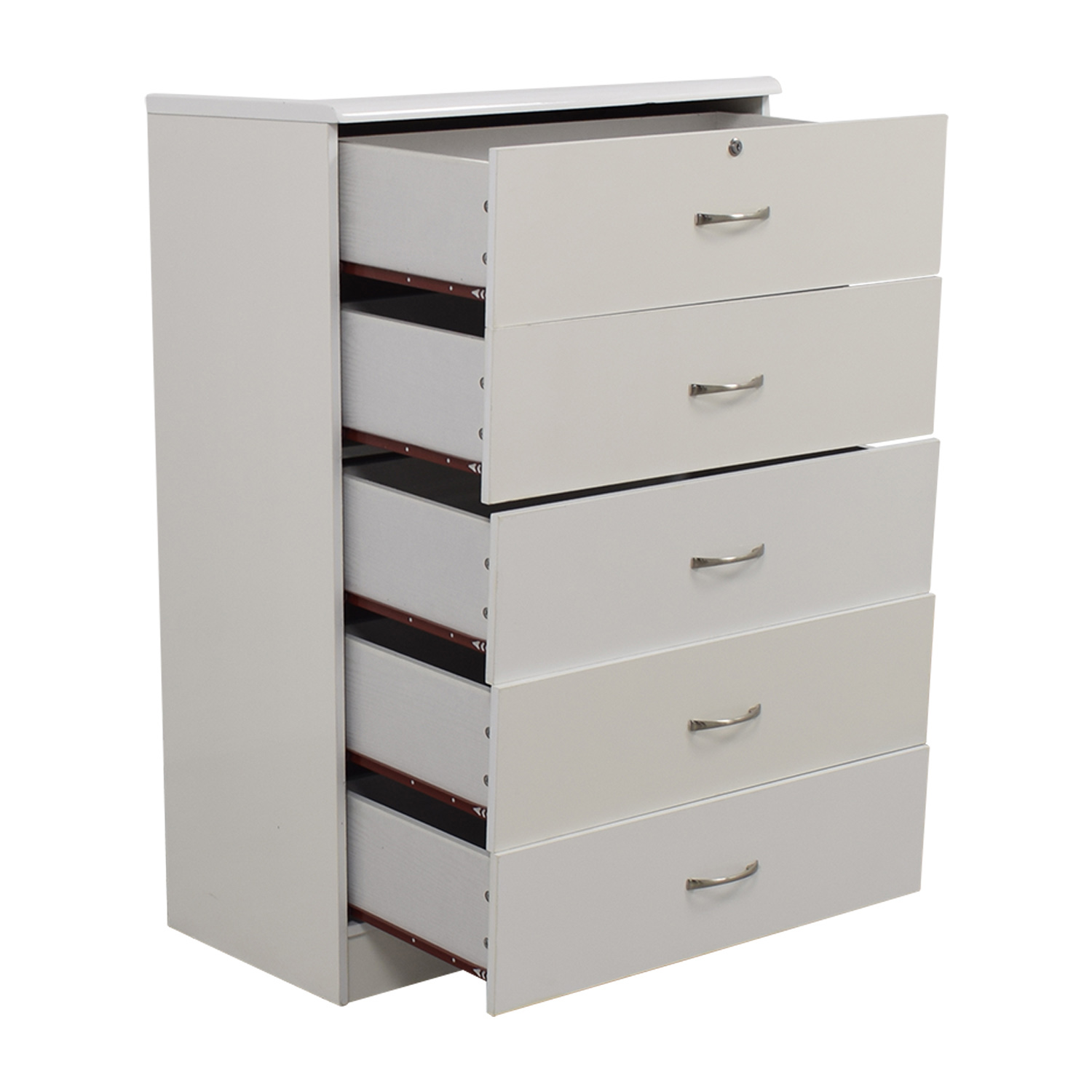 White five drawer dresser bestdressers