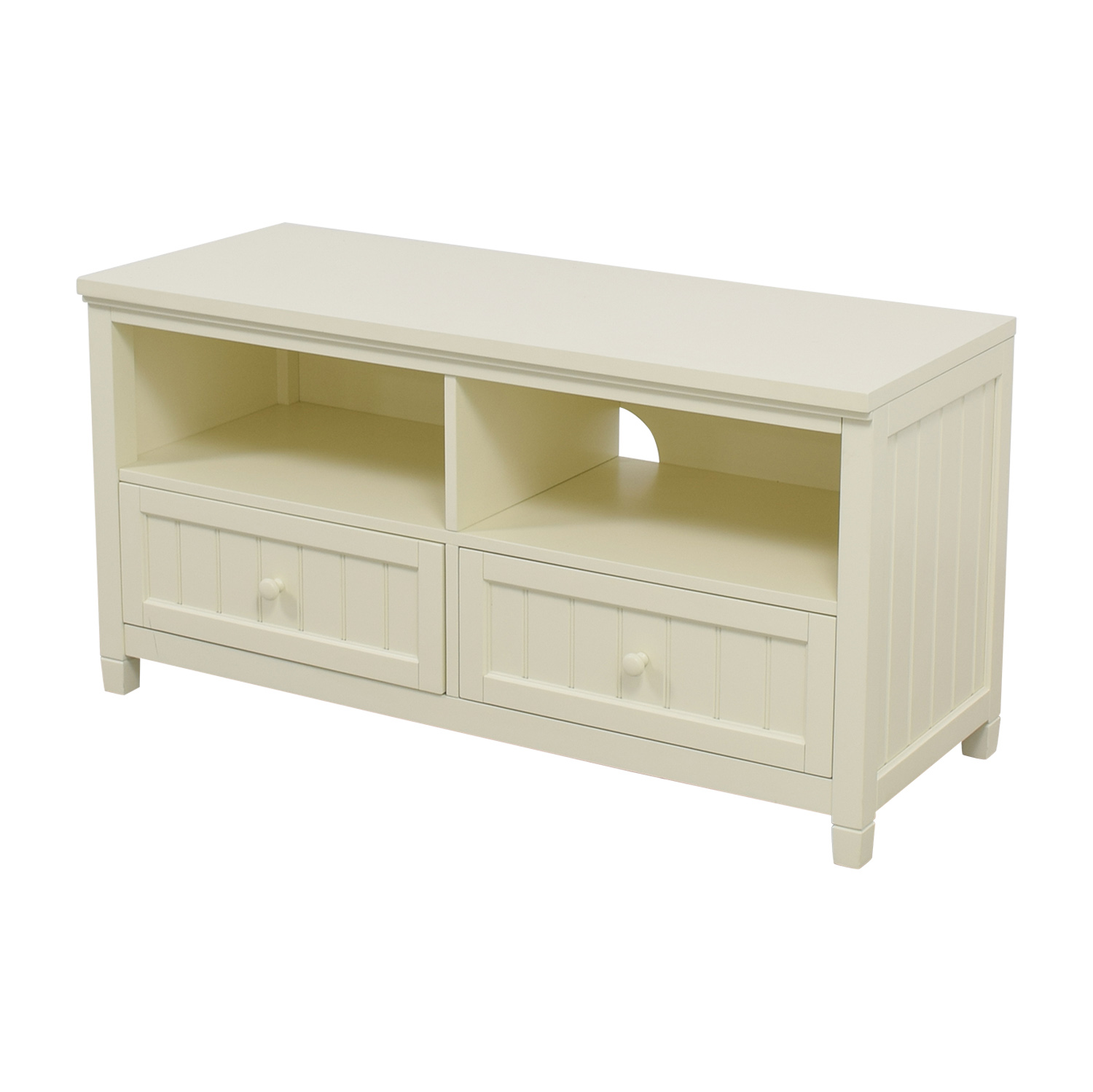 buy Pottery Barn Pottery Barn White Media Stand online